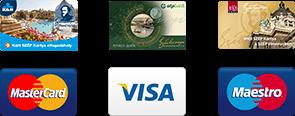 Annagora Aquapark - bankkártya elfogadóhely
